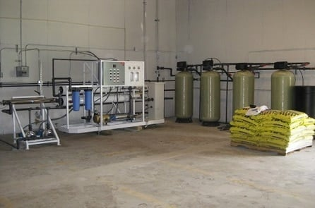 commercial reverse osmosis system for ice plant