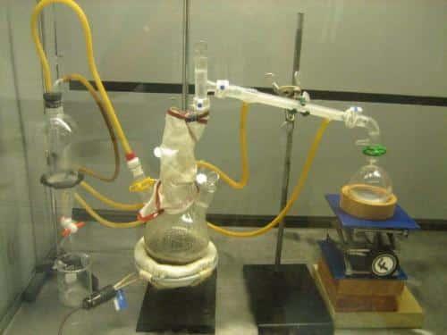 preparing-steam-distilled-water-for-drinking